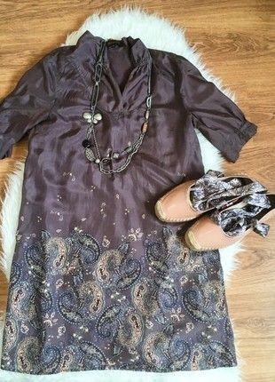 Compra mi artículo en #vinted http://www.vinted.es/ropa-de-mujer/vestidos-formales/791385-vestido-seda-t-36-adolfo-dominguez