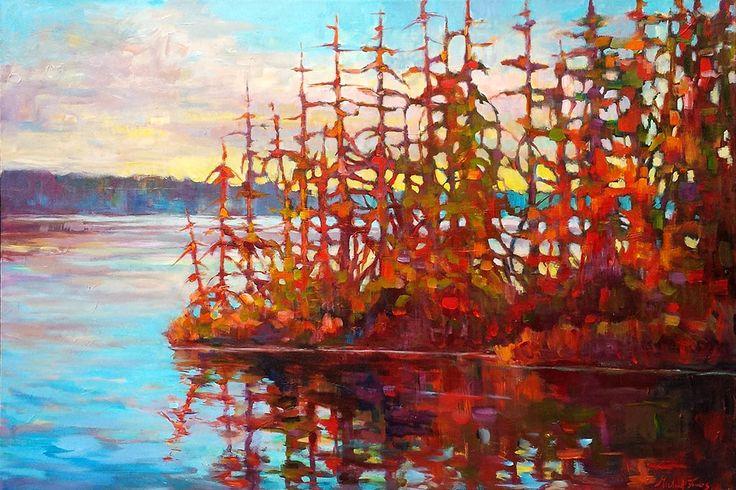 Brown's Bay par Micheal Foers, artiste présentement exposé aux Galeries Beauchamp. www.galeriebeauchamp.com