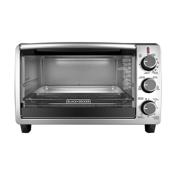 BLACK DECKER TO1950SBD 6-Slice Convection Countertop Toaster Oven, Includes Bake Pan, Broil Rack Toasting Rack, Stainless Steel/Black Convection Toaster Oven *** Be sure to check out this awesome product.