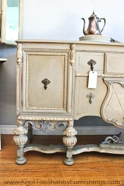 shabby chic sideboard buffet modern vintage furniture refinishing chalk paint miss mustard seed milk paint shabby chic furniture painted furniture vintage shabby chic sideboard buffet server #vintageshabbychicfurniture #paintedfurnitureshabbychic #shabbychicfurniturepainting