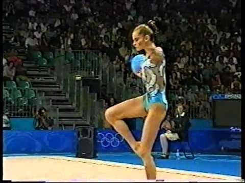 ▶ Yulia Barsoukova Ball Qualif Sydney 2000 - YouTube