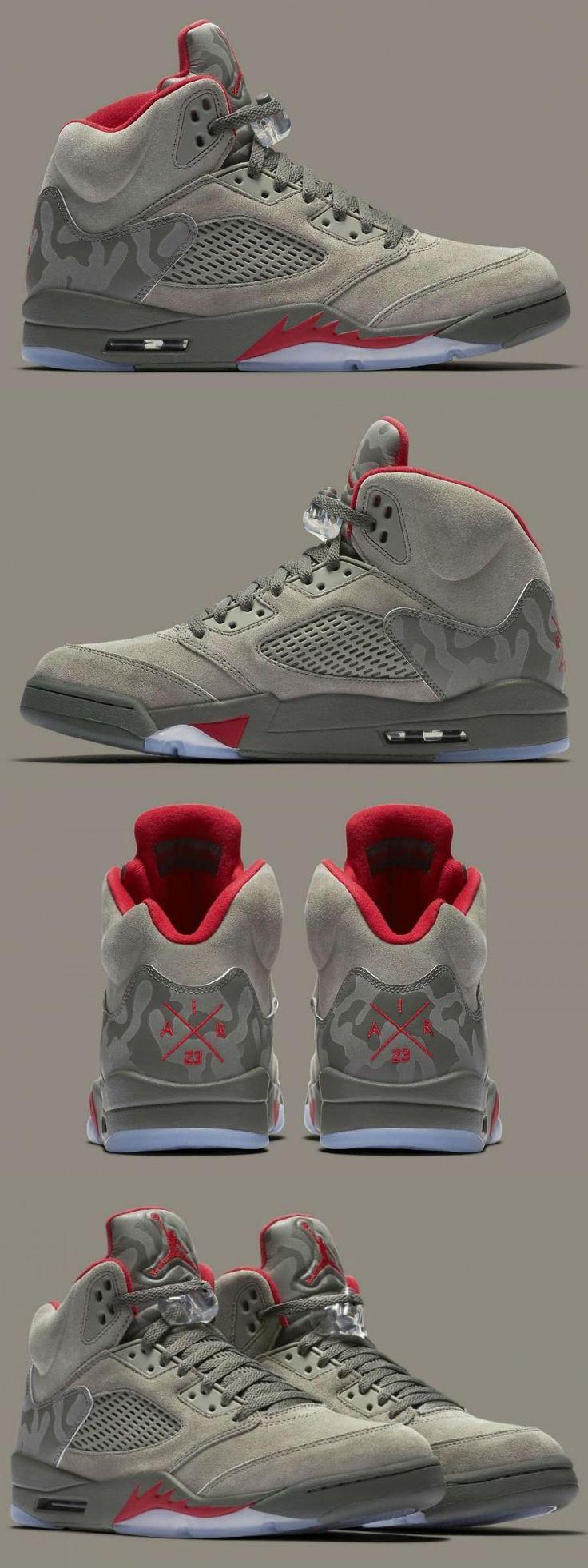 "Air Jordan 5 ""camo"" 3m Reflective For in 2020 Fashion"