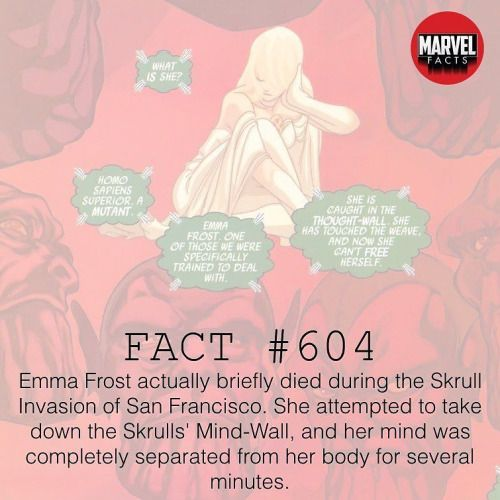 QOTD: Which actress portrayed Emma Frost in the movies? (Follow...