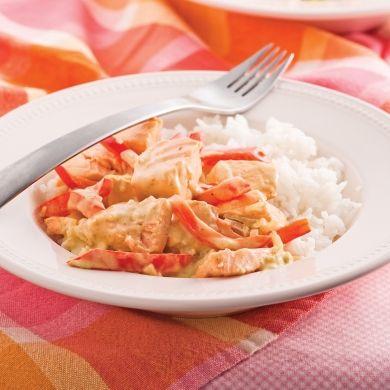 Cari de poisson au lait de coco - Recettes - Cuisine et nutrition - Pratico Pratique
