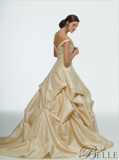 Awesome Belle inspired wedding gown by Kirstie Kelly wash my damn towels