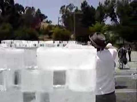 """Allan Kaprow's """"Fluids: A Happening"""" in CSULA 2/9 - YouTube"""