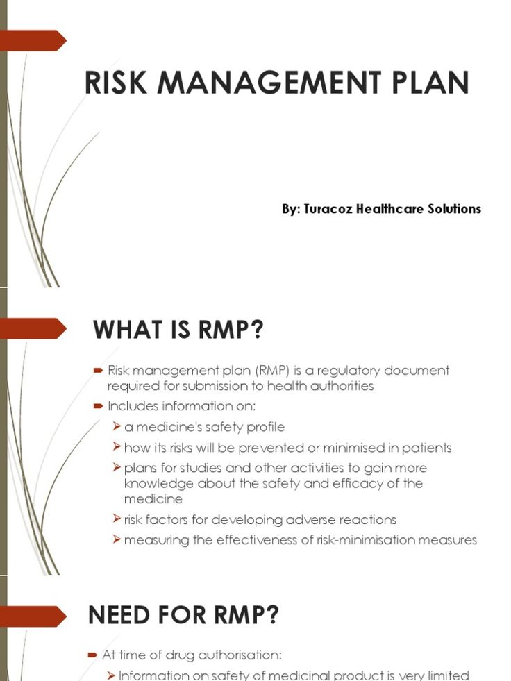 #TuracozHealthcareSolutions - #RiskManagementPlan ( #RMP ) is a #RegulatoryDocument required for submission to #HealthAuthorities.