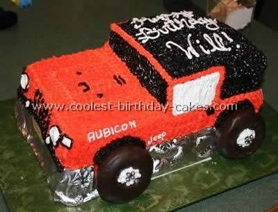 Web's Largest Gallery of Homemade Birthday Cakes