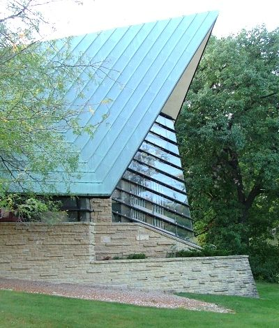 The Unitarian Meeting House Was Designed In 1947 For The First Unitarian  Society Of Madison, Wisconsin. Construction Began In 1949 And Was Completeu2026