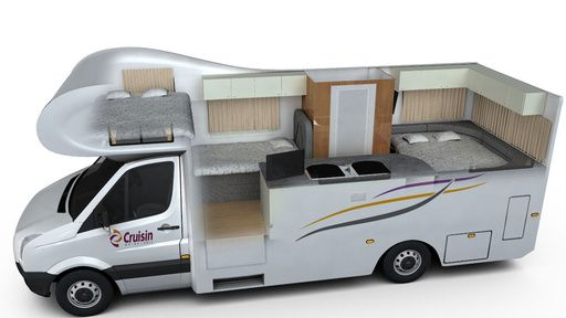 6 berth discovery - Book online. Budget campervan hire. uk, england, scotland, france, germany, italy, spain, portugal, finland, norway, iceland,australia, new zealand, south africa, usa, canada