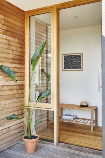 Despite some challenges often presented with timber frame and clad dwellings, with extensive insulation throughout, the house achieves an energy rating of 6.5 stars