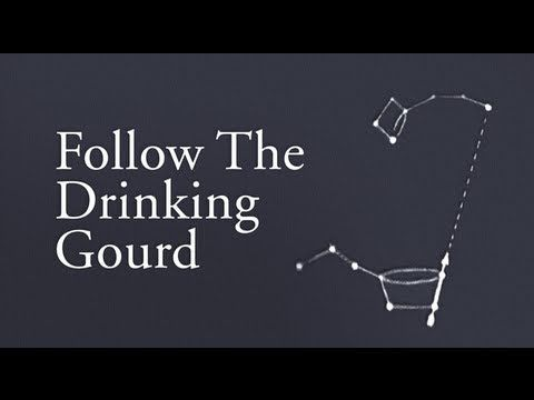 the drinking gourd Follow the drinking gourd is a story of slavery and escape in the mid-1800's a unique and true story as an artist/illustrator myself i have written the story.