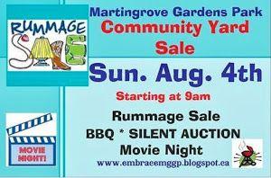 Next event in Martingrove Gardens Park