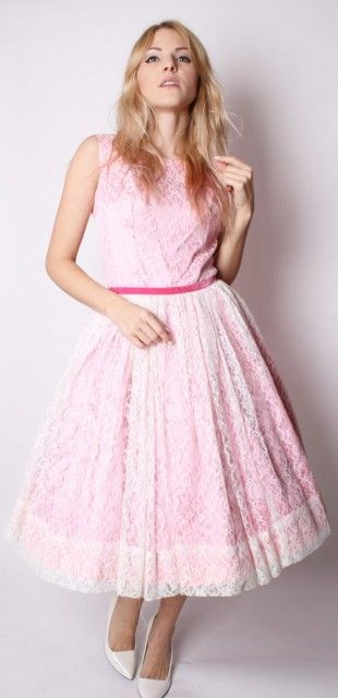 So you have decided on the vintage pink wedding dress for your big day.