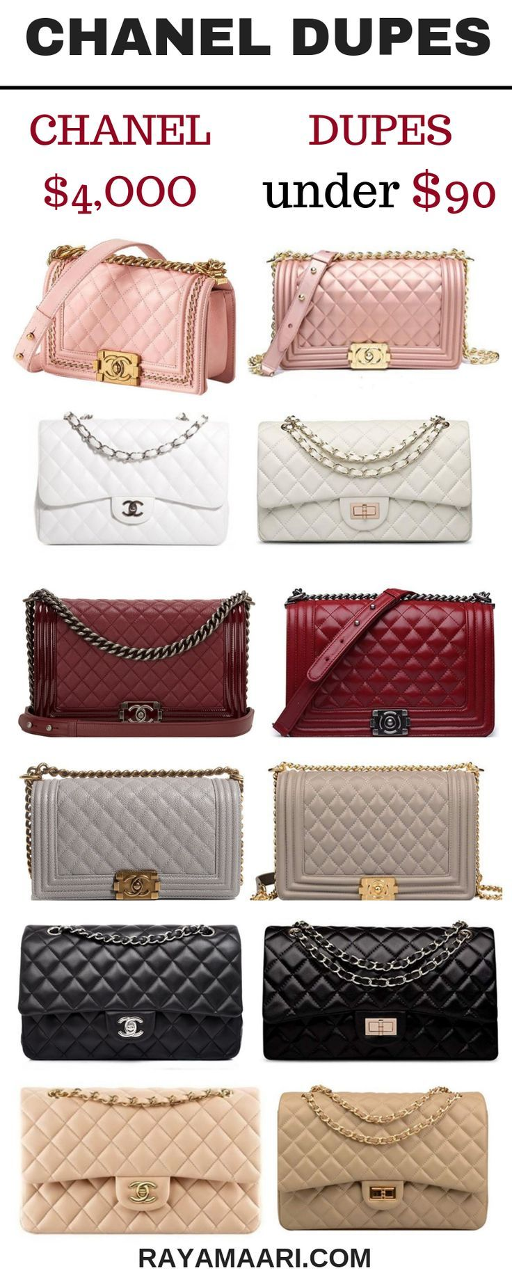6df50d19bb1 These Chanel Bag Dupes Will Elevate Your Style!