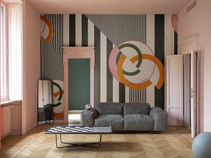 Die besten 25+ Grafik tapeten Ideen auf Pinterest Moderne tapete - wohnzimmer tapeten ideen braun