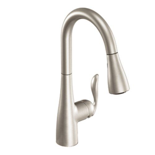 Moen 7594SRS Arbor One-Handle High Arc Pull Down Kitchen Faucet, Spot Resist Stainless Moen http://www.amazon.com/dp/B0087AQ0MC/ref=cm_sw_r_pi_dp_vNL6tb1THHHDB