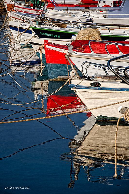 Reflections of Limnos, Greece