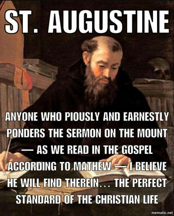 christianity according to st augustine and Personal background saint augustine of hippo was born on november 13 st augustine's confessions st augustine buy about st augustine's confessions.