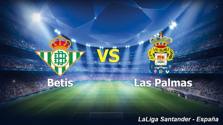 Ver el encuentro entre Betis vs Las Palmas en vivo online Viernes 18 de Noviembre 2016
