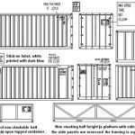 shipping container dimensions meter