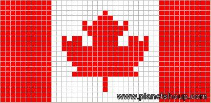 Canadian Flag Chart