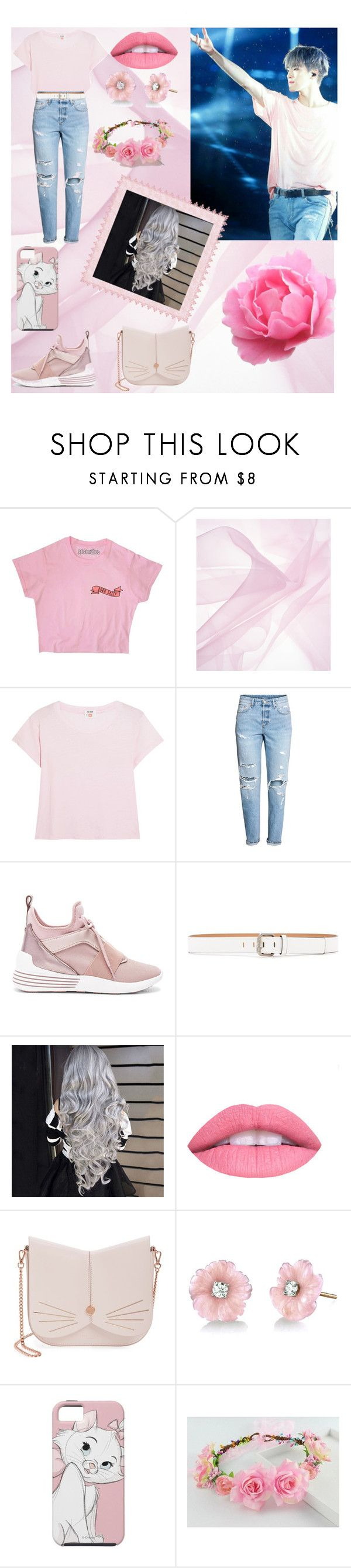 """Untitled #27"" by esenklovazamat ❤ liked on Polyvore featuring RE/DONE, Kendall + Kylie, Calvin Klein Jeans, L.A. Girl, Ted Baker and Irene Neuwirth"
