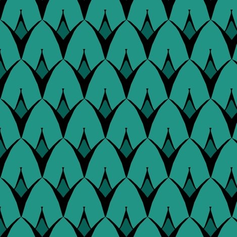 scales fabric for pillow