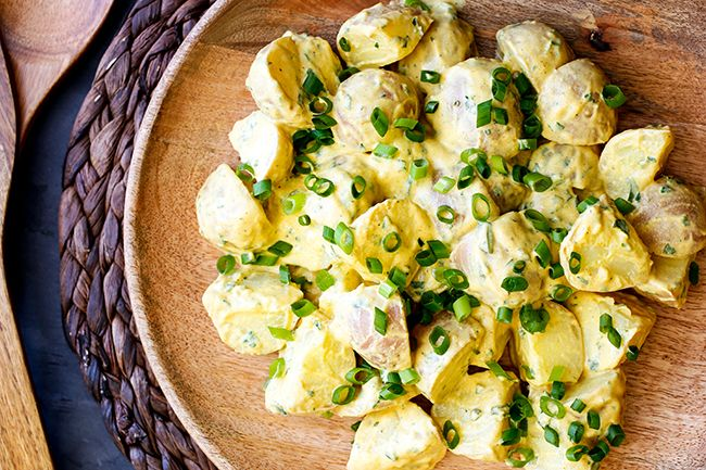 Bombay Potato Salad has been requested by two of my favourite Skinnies – Gem & Katie – for a year now! I think this will be a hit for summer bbq's and parties and it is definitely a healthier spin on commercially made Bombay Potato Salad thanks to using yoghurt, in addition to no additives...Read More »