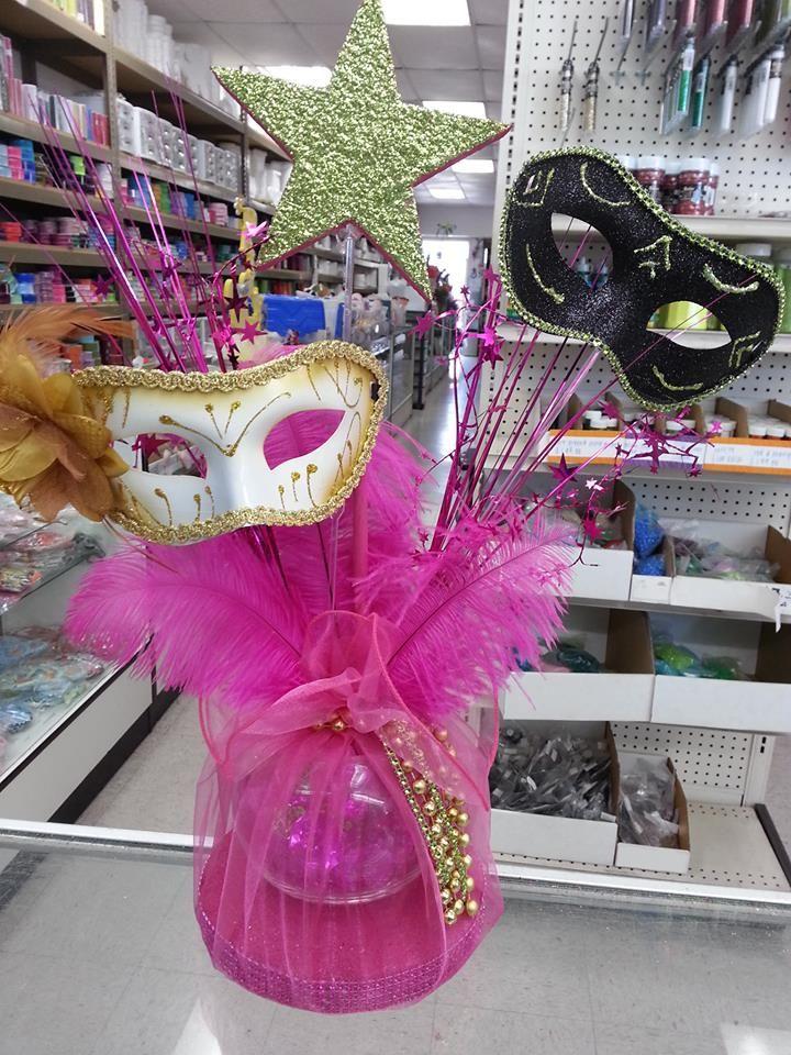 Masquerade Centerpieces