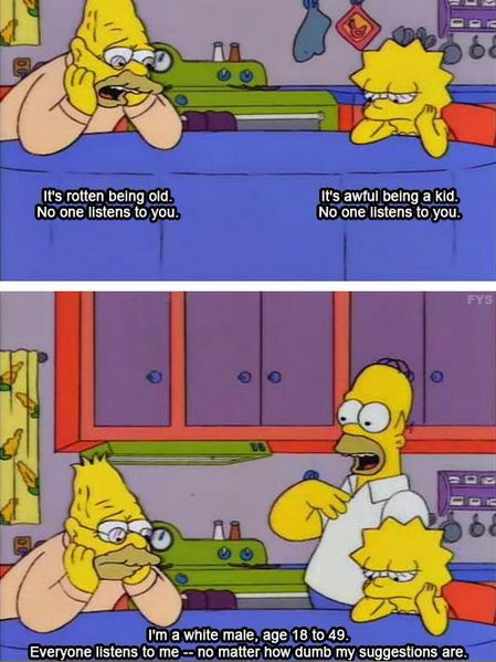 The Simpsons nailed it.