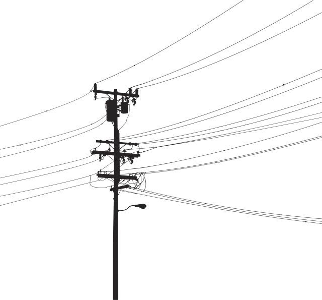 what is a electrical t pole