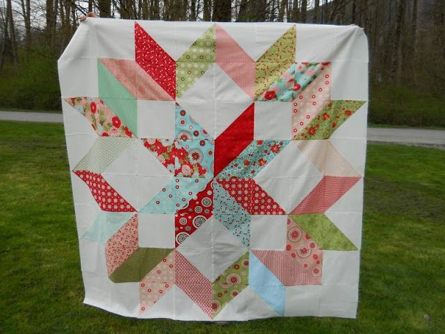 Layer cake quilt quilts Pinterest