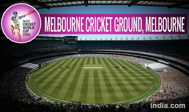 Melbourn,Australia Capacity - 100,000 Fixture Day-1.  February 14,2015  Second match Australia v England