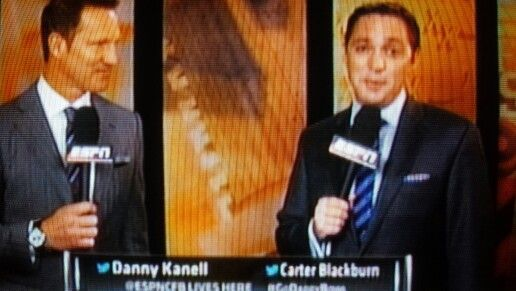 Danny Kanell and Carter Blackburn