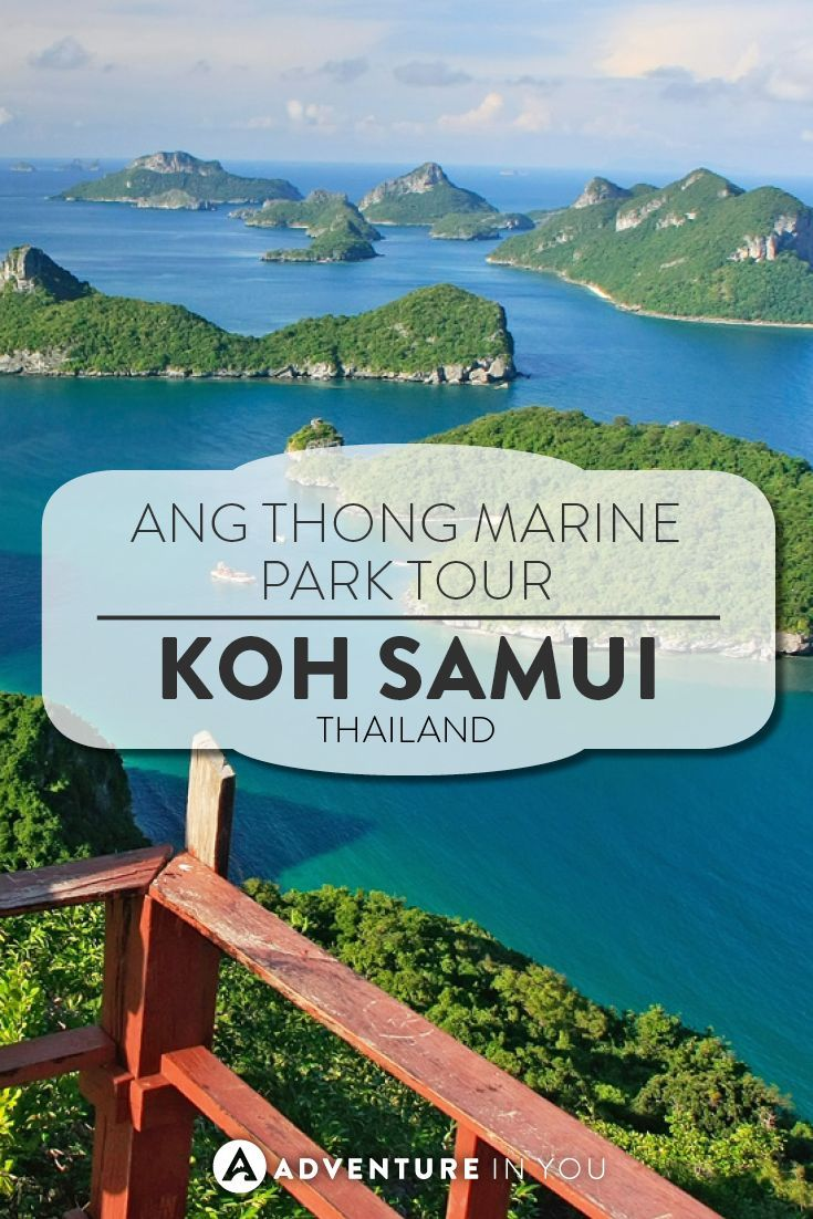 Thailand Travel | When in Koh Samui or Koh Phangan, make sure you don't miss out on going to see the Ang Thong Marine National Park. This beauty is a short speed boat ride away and is a place where you can spend your day kayaking, snorkeling, and swimming in uninhabited islands.
