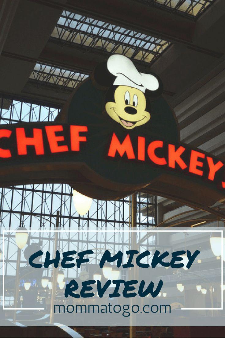 Review of Chef Mickey character brunch at Disney's Contemporary Resort, Walt Disney World, Orlando, Florida. mommatogo.com