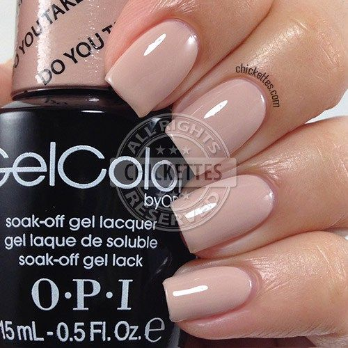 OPI GelColor Hawaii Collection - Do You Take Lei Away? - Chickettes.com