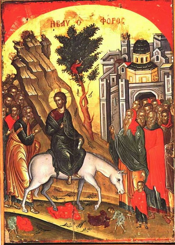 Le icone bizantine delle Feste - Le Feste mobili
