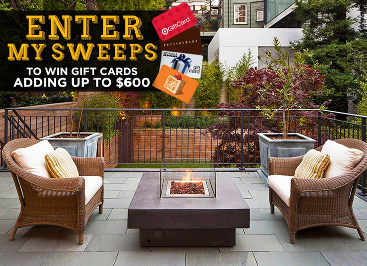 Enter my September sweepstakes to win 600 in gift cards
