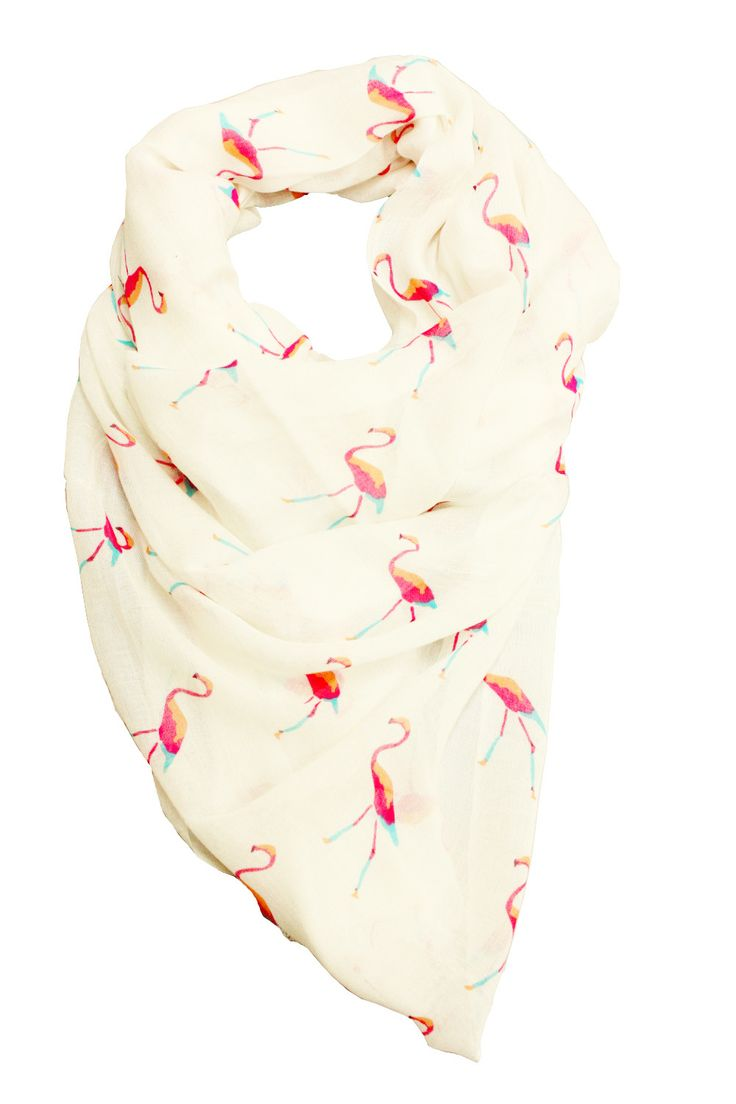Flamingo scarf by Printed Village. I want this very much.: Flamingos Scarfs, Flamingos Obsession, Pink Flamingos, Flamingos Lov, Pretty Flamingos, Things Flamingos, Fl Fl Flamingos, Hats Scarves Accessories Etc, Flamingos Gogo