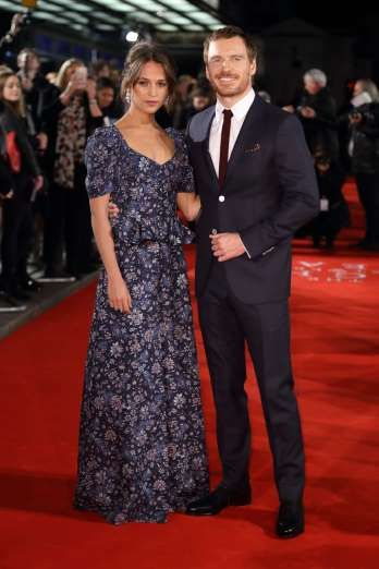 All The Celebrities Who Got Married in 2017 - December 6, 2017:  ALICIA VIKANDER & MICHAEL FASSBENDER - Talk about an A-list power couple. Oscar winner Alicia Vikander wed Academy Award nominee Michael Fassbender in a secret, intimate ceremony this past October in Ibiza. The couple, who wed in a beachfront ceremony, first met on the set of The Light Between Oceans in 2014...