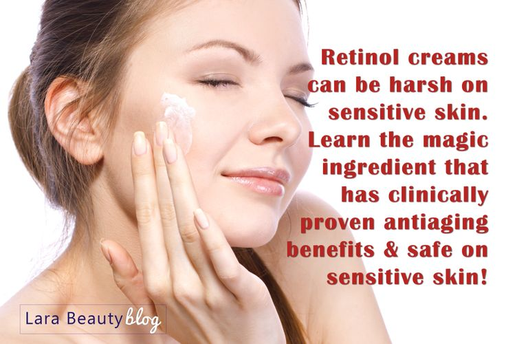 Learn why retinol creams may be irritating your skin and what you can use as the perfect alternative for sensitive skin! http://larabeauty.wordpress.com/2014/06/11/pp3-the-latest-in-skin-care-innovation-but-what-is-it/