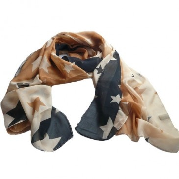 Bohemian Stars Scarf...nice for  the Cowgirls.