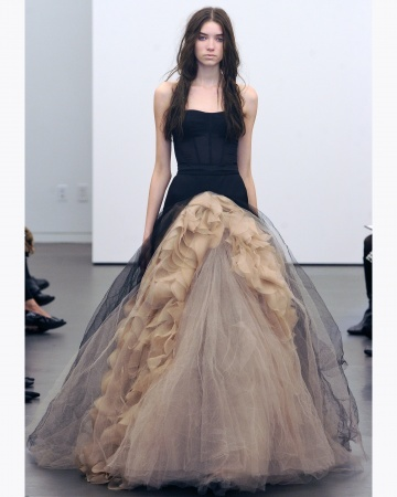 evokes Great Expectations Vera Wang, Fall 2012 Collection