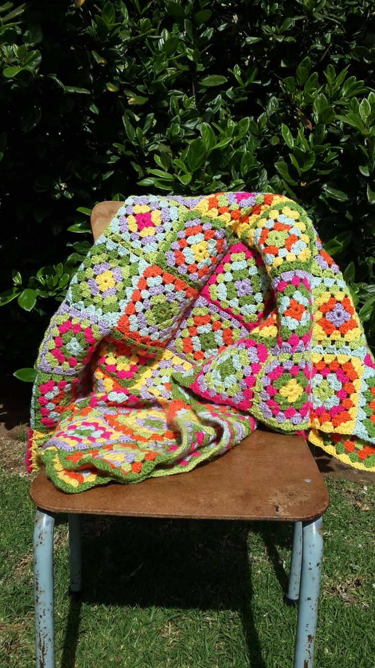 Crochet Blanket by igoti