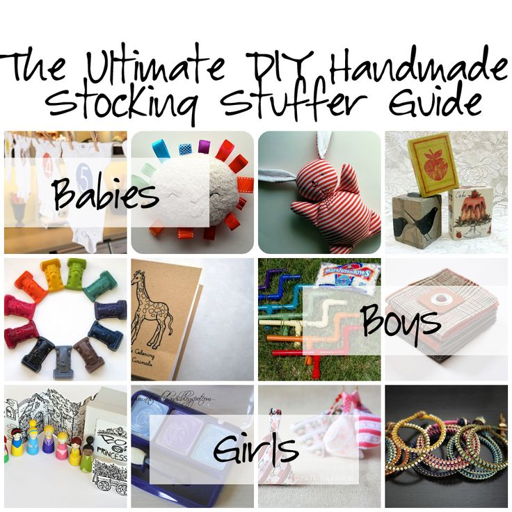 The Ultimate Diy Handmade Stocking Stuffer Guide For S Boys And Babies