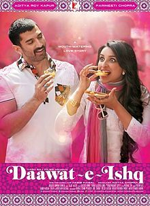 "Daawat-e-ishq ""Feast of Love""  Great movie"