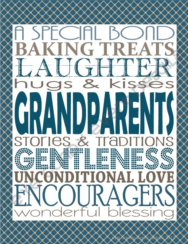 Eye Candy Event Details: {FREE Subway Art} Grandparents Day Subway Art Download #grandparents day
