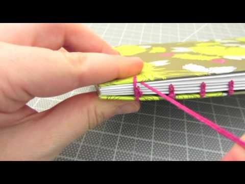 Bookbinding Tutorial: How to Coptic Stitch